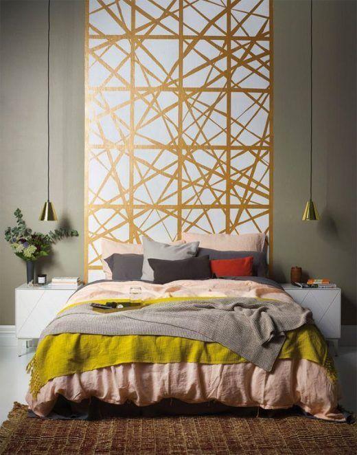 Ideas para pintar paredes de forma diferente y original - Papel de pared para pintar ...