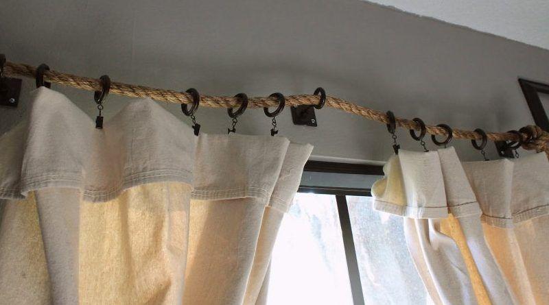 Barras de cortinas originales para tu casa