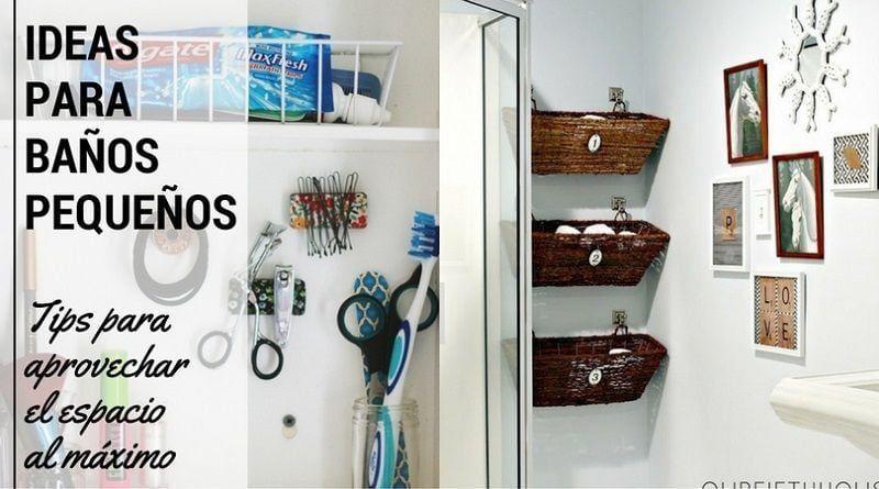 Ideas para ba os peque os tips para aprovechar el - Ideas para trasteros pequenos ...