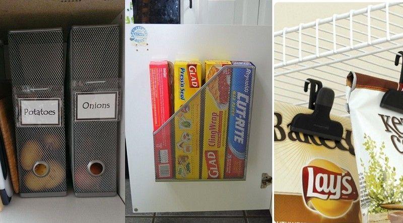 12 Tips para organizar mejor tu cocina