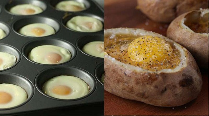11 formas originales de cocinar huevos