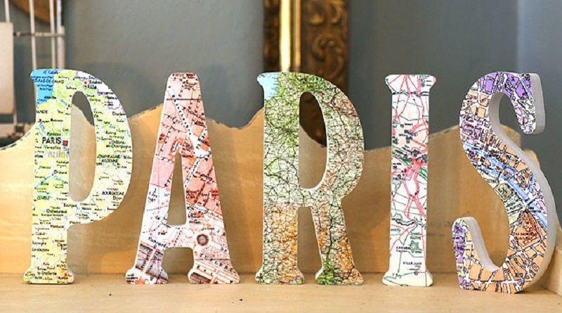 Decorar con mapas: 11 ideas para tu casa