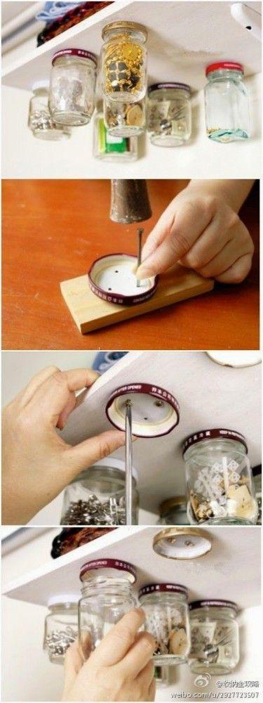 truco para usar tarros de cristal