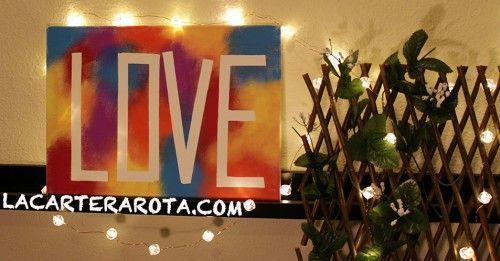 canvas LOVE San Valentin