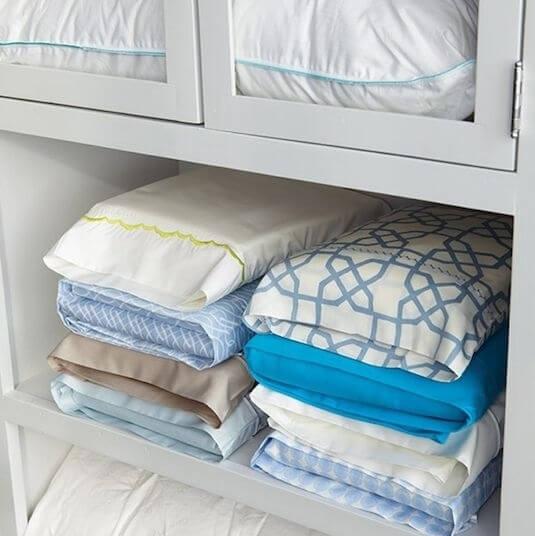 Como organizar un armario pequeño con mucha ropa y sabanas