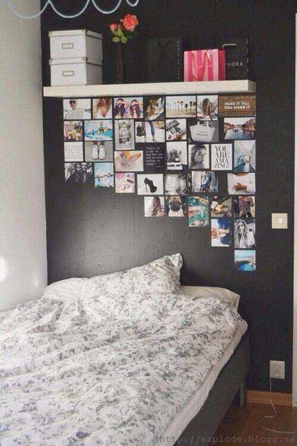 Cómo decorar una habitacion con fotos