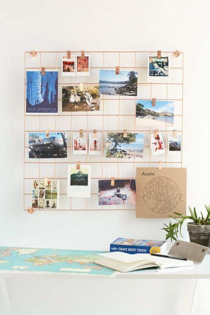 30 ideas para decorar una habitaci n con fotos for Como decorar una pieza