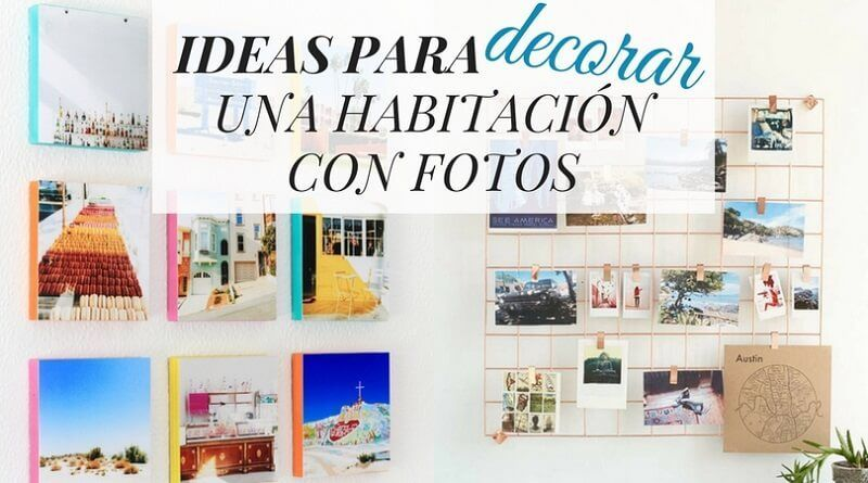 30 Ideas para decorar una habitación con fotos