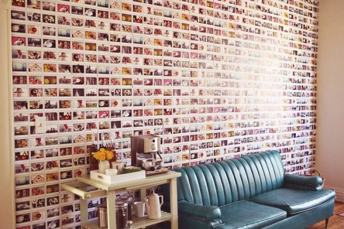 30 ideas para decorar una habitaci n con fotos - Ideas originales para decorar paredes ...