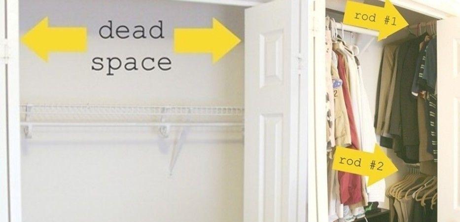 ideas para organizar un armario pequeño