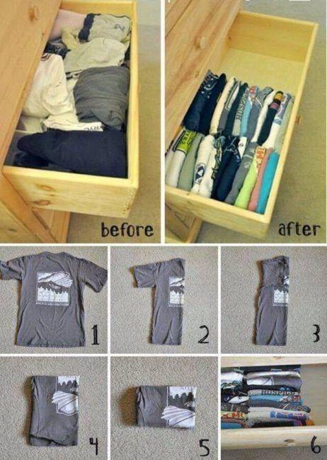 trucos para organizar un armario pequeño con mucha ropa