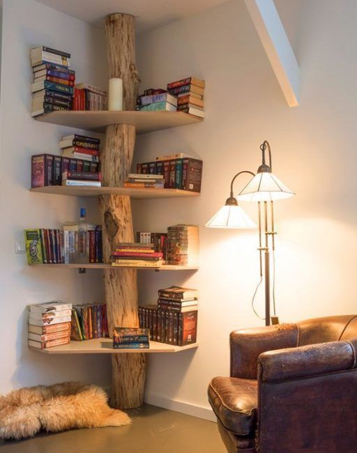 Estanter as originales para libros 20 dise os sorprendentes - Estanterias diseno pared ...