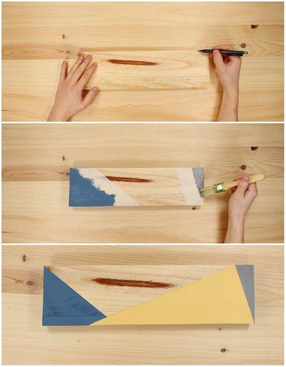 Pintar el colgador de pañuelos