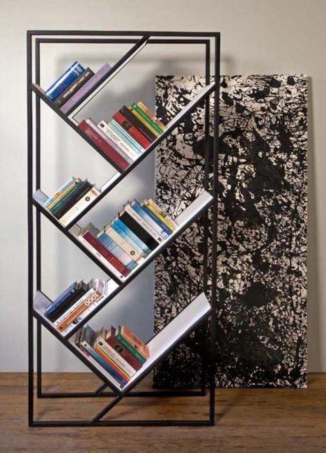 Estanter as originales para libros 20 dise os sorprendentes - Estanterias diseno pared ...