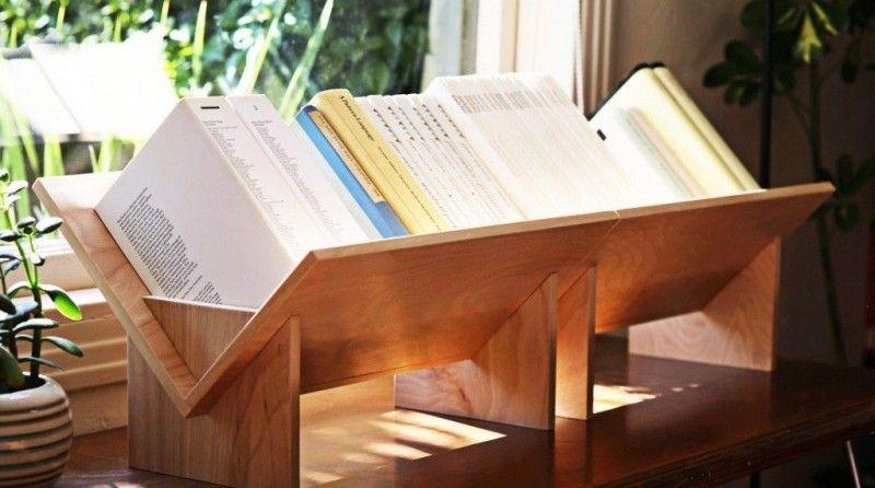 Estanterías originales para libros: 20 diseños sorprendentes