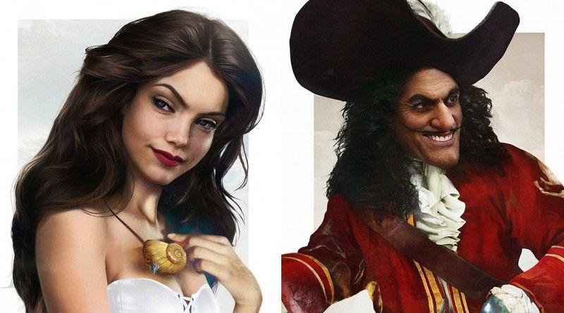 Los dibujos hiperrealistas de los personajes Disney realizados por Jirka Vinse