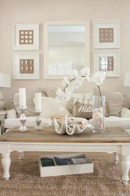 Decorar con conchas