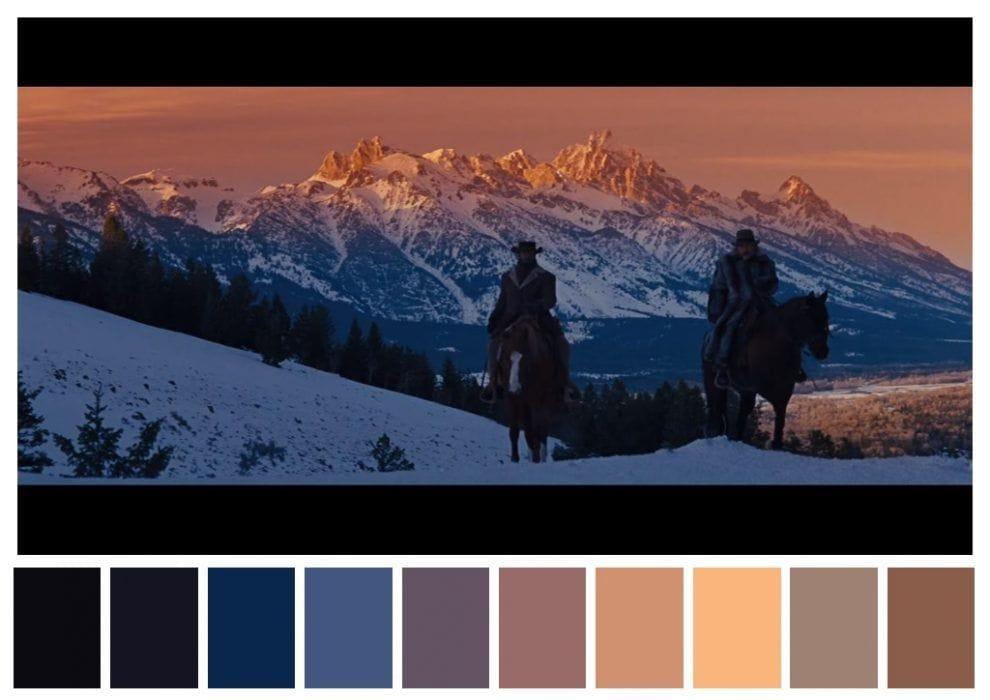 paleta de colores django