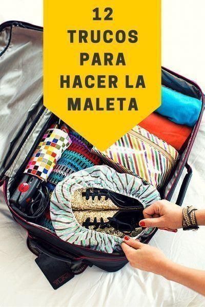 12 trucos para hacer la maleta