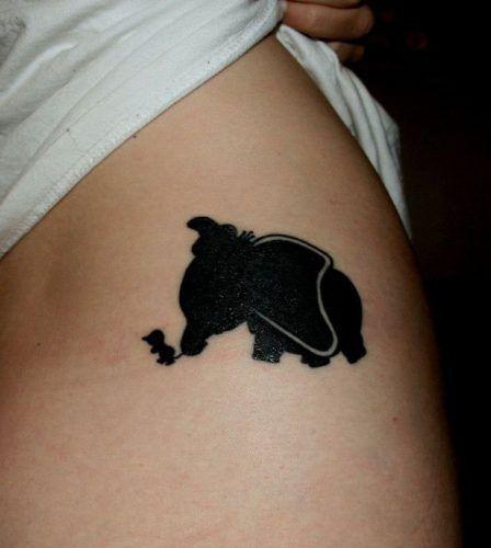 Tatuajes Disney - Dumbo