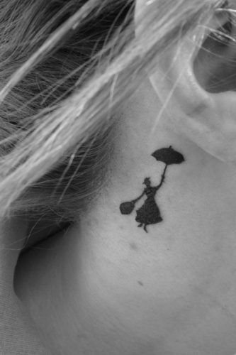 Tatuajes Disney - Mary Poppins
