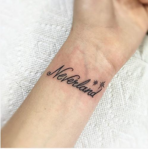 Tatuajes Disney - Neverland
