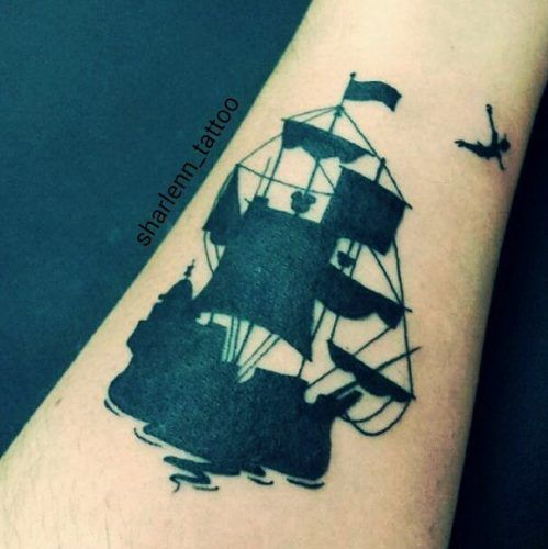 Tatuajes Disney - Peter Pan 2
