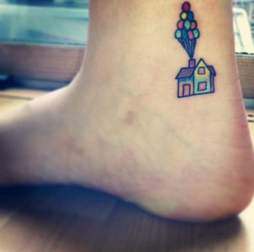 Tatuajes Disney - Up