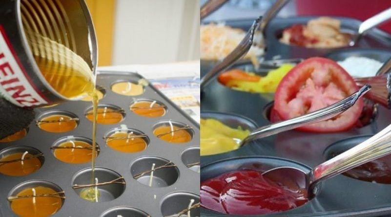 12 maneras de utilizar los moldes para cupcakes de forma original