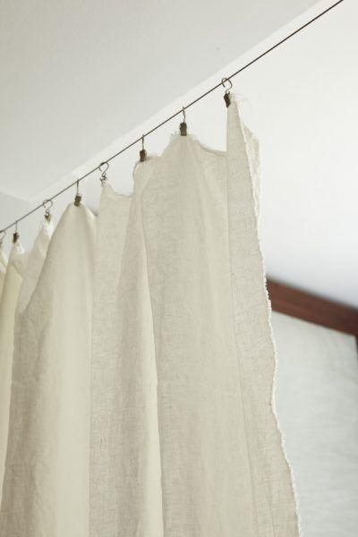 Barras de cortinas originales - alambre metalico
