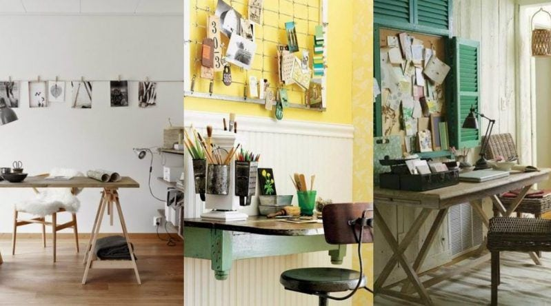 Decoración de escritorios: 20 ideas para decorarlo a tu gusto