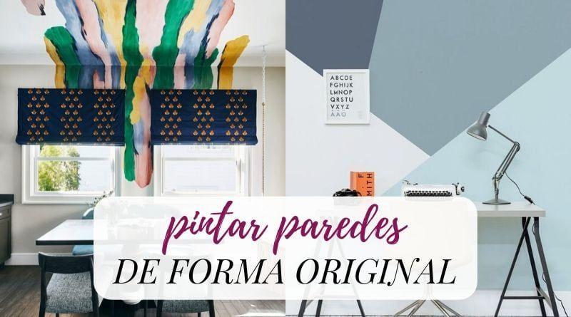 Cómo pintar las paredes de forma original