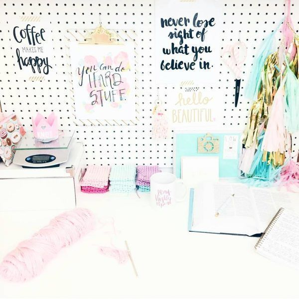 Decoraci n de escritorios 20 ideas para decorarlo a tu gusto - Decoracion para escritorio ...