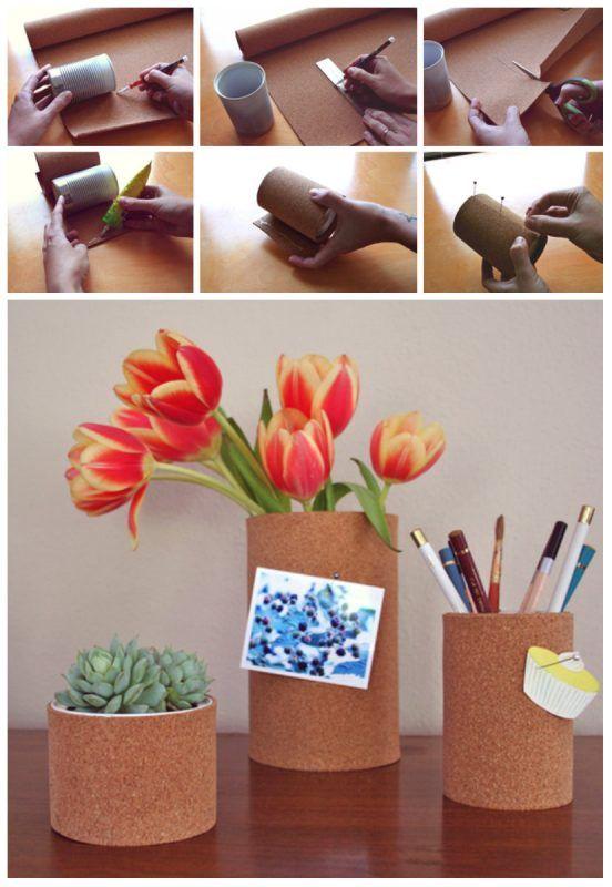 Cómo organizar tu escritorio con corcho
