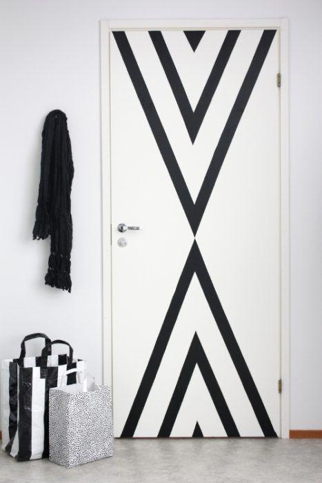 puertas de interior pintadas de colores 13