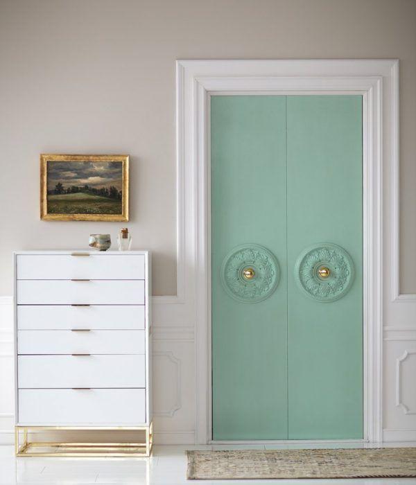 puertas de interior pintadas de colores 14