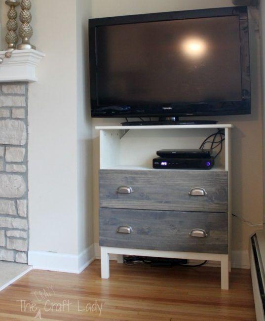 Ikea hack cómoda para televisión