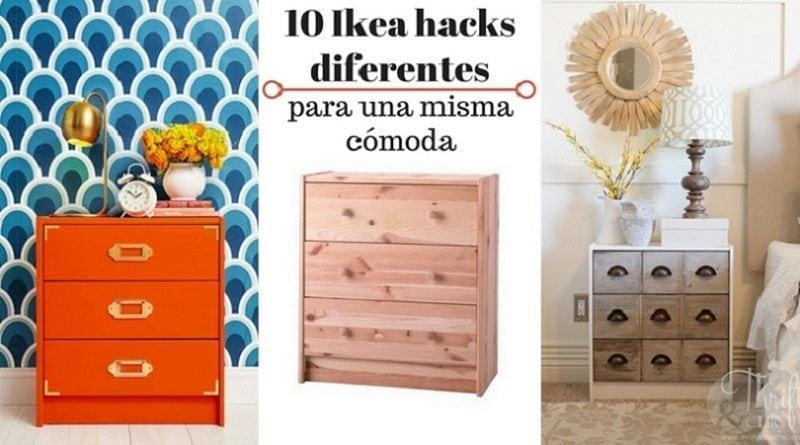 10 Ikea hacks diferentes para una misma cómoda