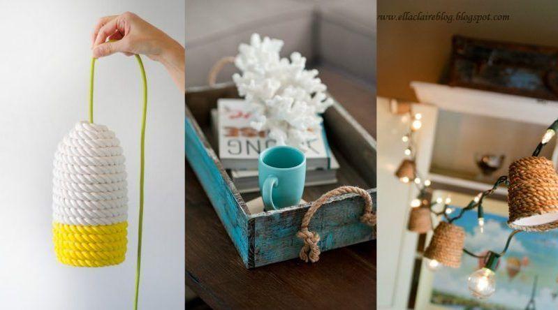 12 proyectos DIY con cuerdas