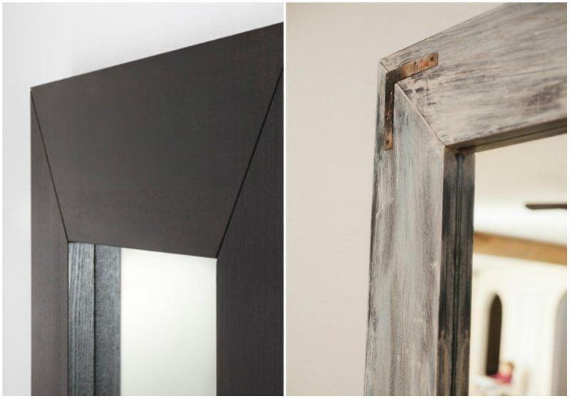 Crea un espejo rústico a partir de un espejo convencional 2