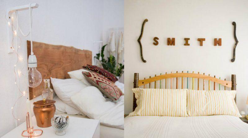 Ideas para decorar el cabecero de la cama la cartera rota - Ideas cabecero cama ...