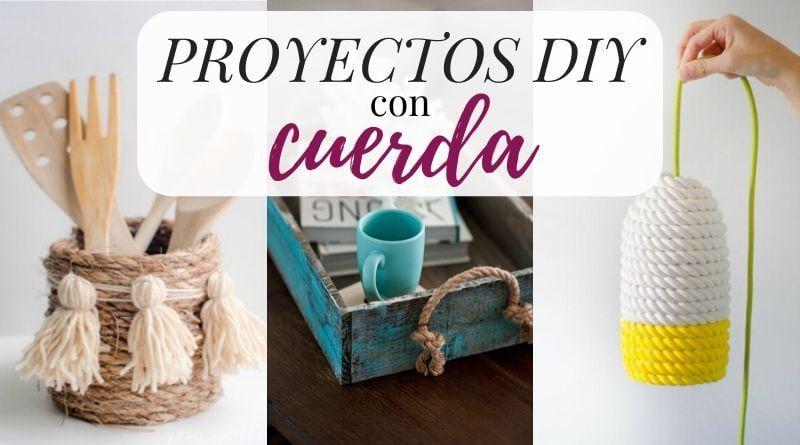 Proyectos DIY con cuerda