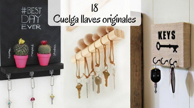 Cuelga llaves originales 18 ideas para hacer tus llaveros for Cosas para casa originales