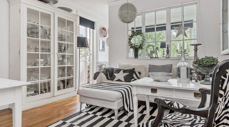 Decora tu hogar en blanco y negro