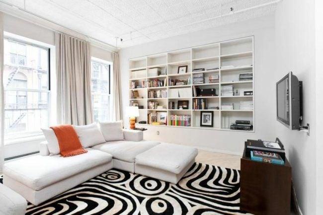Decora tu hogar en blanco y negro 11