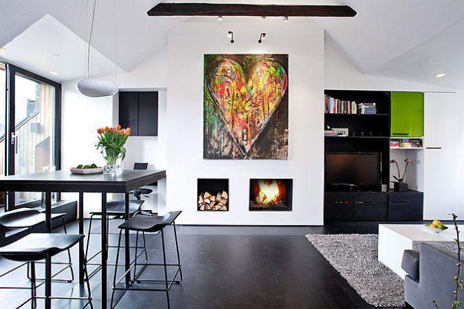 Decora tu hogar en blanco y negro 4