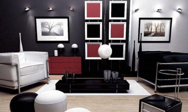 Decora tu hogar en blanco y negro 6