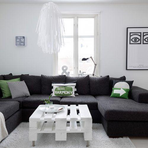 Decora tu hogar en blanco y negro 7