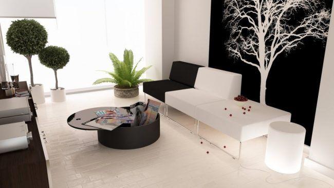 Decora tu hogar en blanco y negro 9