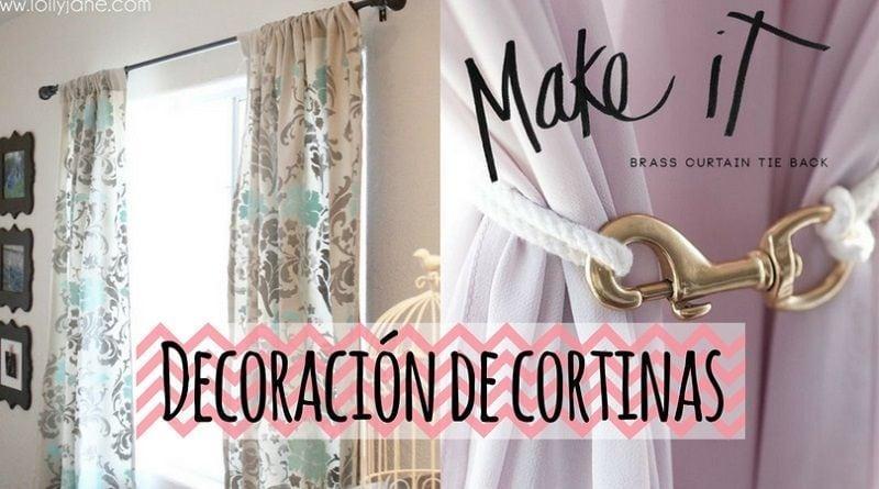 Decoración de cortinas: 12 maneras de hacer que tus cortinas sean únicas